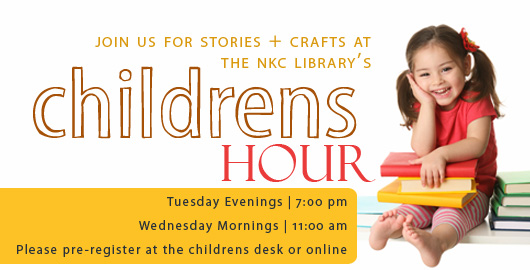 Join us for Children's Story Hour!
